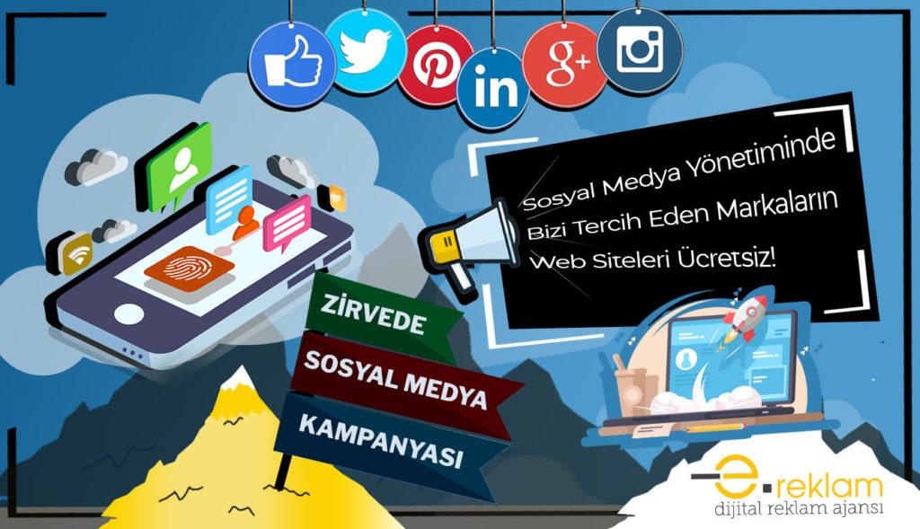 Sosyal medya yönetiminde bizi tercih eden markaların web siteleri ücretsiz.